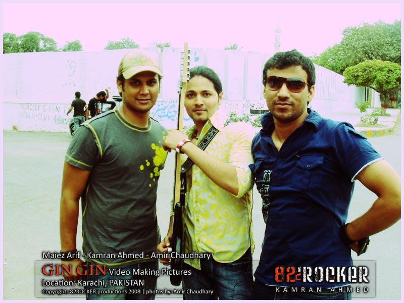 Maiez Arif, Kamran Ahmed & Amir Chaudhary